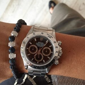 7D Line silver hell and Rolex Daytona